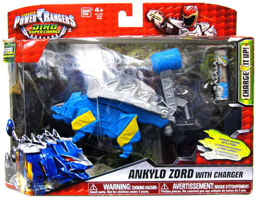 Power Rangers Dino Charge Ankylo Zord Action Figure [Blue]