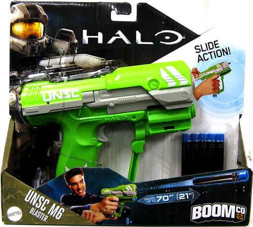 Halo BOOMco. UNSC M6 Pistol Blaster Dart Blaster Toy [Green]