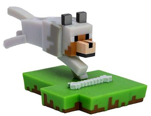 Minecraft Craftables Series 1 Wolf 3-Inch PVC Figure [Loose]