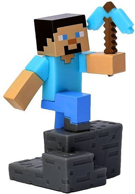 Minecraft Craftables Series 1 Steve 3-Inch PVC Figure [Loose]