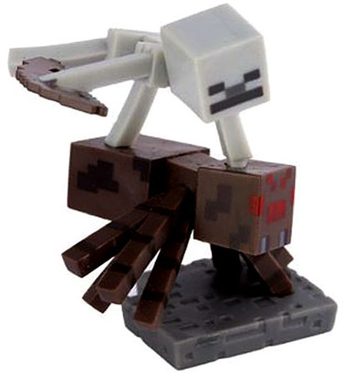 Minecraft Craftables Series 1 Spider Jockey 3-Inch PVC Figure [Loose]