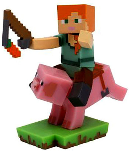 Minecraft Craftables Series 1 Pig Rider 3-Inch PVC Figure [Loose]