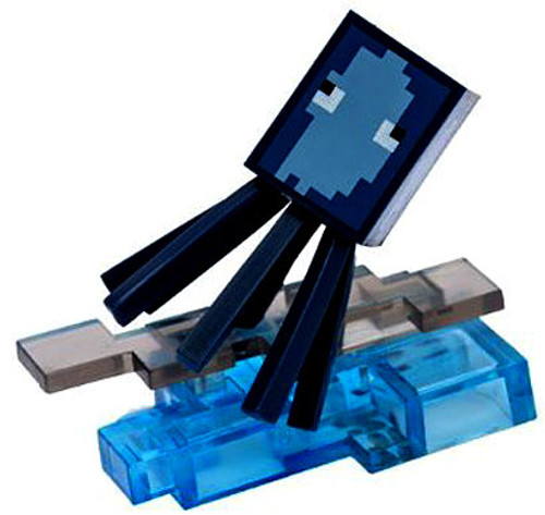 Minecraft Craftables Series 1 Squid 3-Inch PVC Figure [Loose]