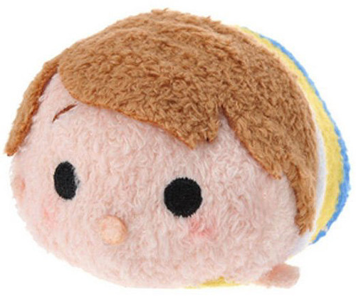 Disney Tsum Tsum Winnie the Pooh Christopher Robin Exclusive 3.5-Inch Mini Plush