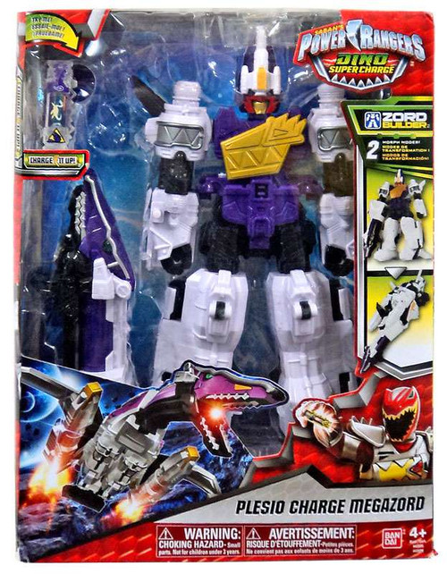 Power Rangers Dino Super Charge Plesio Charge Megazord Action Figure [Zord Builder]