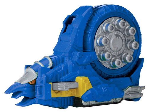 Power Rangers Dino Charge Zord Builder Ammonite Zord with Charger Action Figure [Blue]