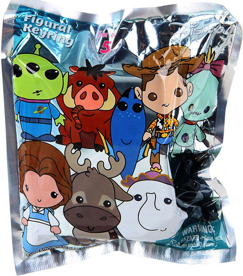 3D Figural Keyring Disney Series 5 Mystery Pack