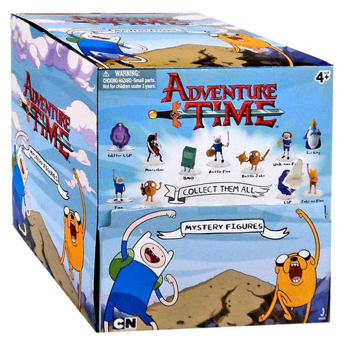Adventure Time Minifigure 2-Inch Mystery Box [24 Packs]