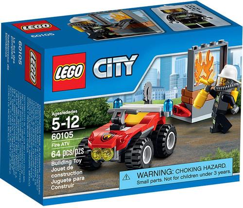 LEGO City Fire ATV Set #60105