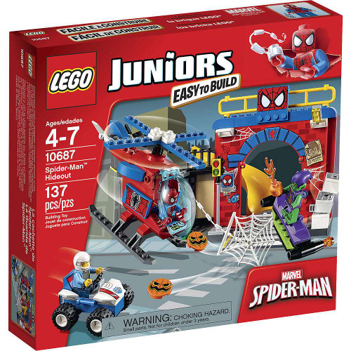 LEGO Juniors Spider-Man Hideout Set #10687