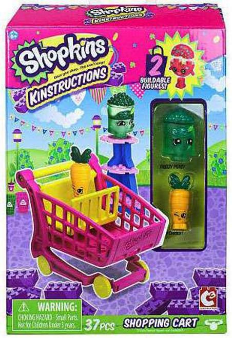 Shopkins Kinstructions Shopping Cart [Freezy Peasy & Wild Carrot]
