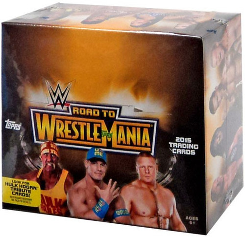 WWE Wrestling Topps 2015 Road to WrestleMania Trading Card RETAIL Box