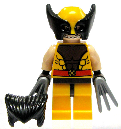 LEGO Marvel Super Heroes Wolverine Minifigure [Brown Costume Loose]