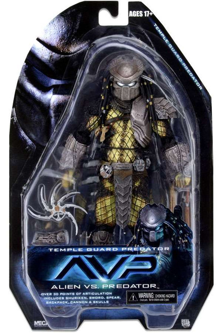 NECA Alien vs. Predator Series 15 Temple Guard Predator Action Figure
