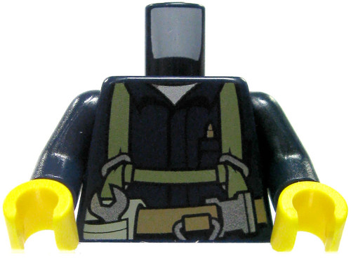 LEGO Dark Blue Construction Worker with Toolbelt Loose Torso [Loose]