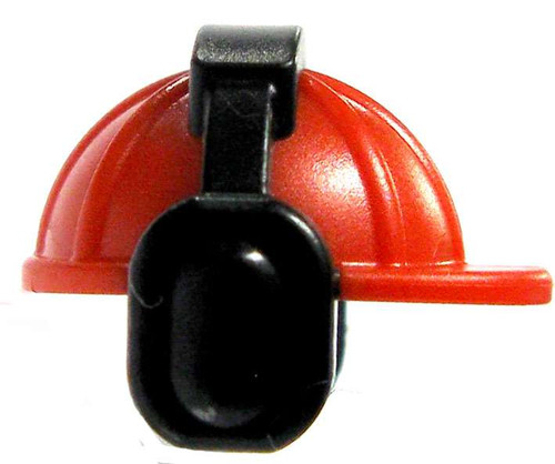 Red Hard Hat with Earmuffs [Loose]
