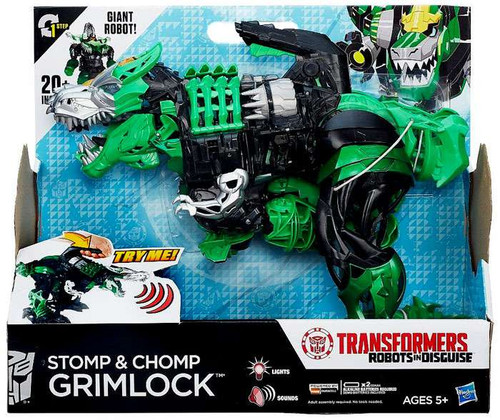 Transformers Robots in Disguise Stomp & Chomp Grimlock Action Figure