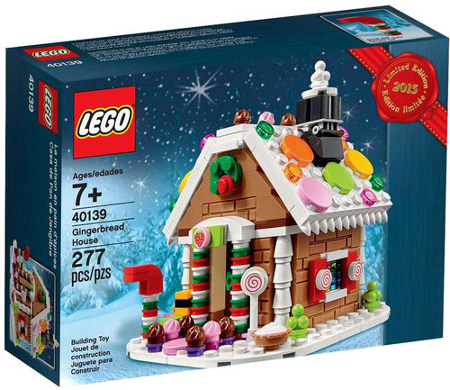 LEGO Gingerbread House Exclusive Set #40139 [Limited Edition]