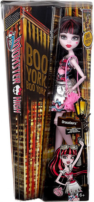 Monster High Boo York Draculaura 10.5-Inch Doll [Damaged Package]