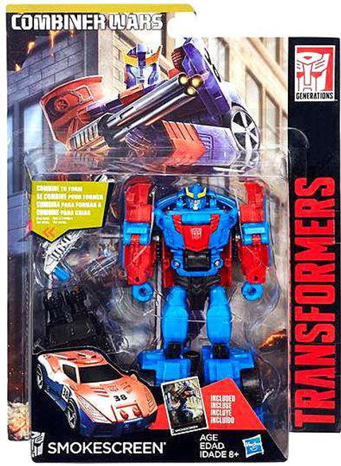 Transformers Generations Combiner Wars Smokescreen Deluxe Action Figure