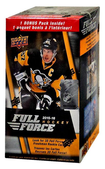 NHL 2015-16 Full Force Hockey Trading Card BLASTER Box
