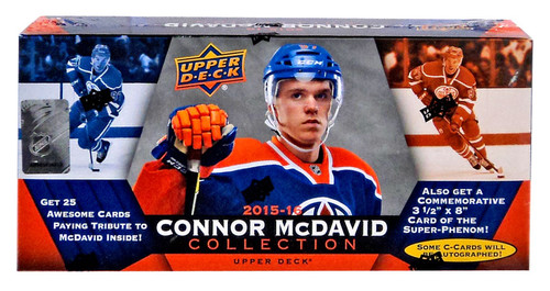 NHL 2015-16 Connor McDavid Collection Trading Card BLASTER Box