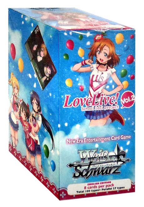 Weiss Schwarz Love Live! Vol. 2 (School Idol Project) Booster Box [20 Packs]