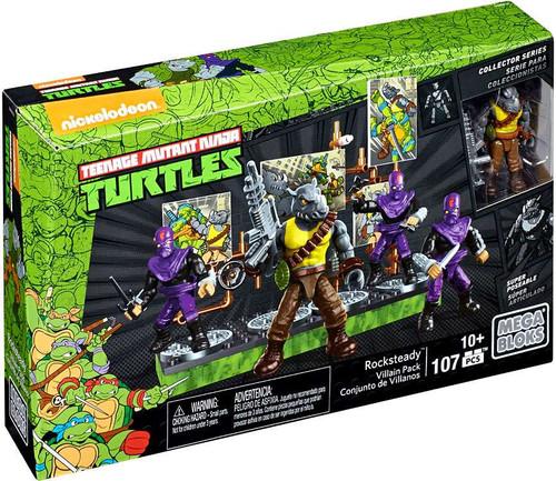 Mega Bloks Teenage Mutant Ninja Turtles Collector Rocksteady Set #28915