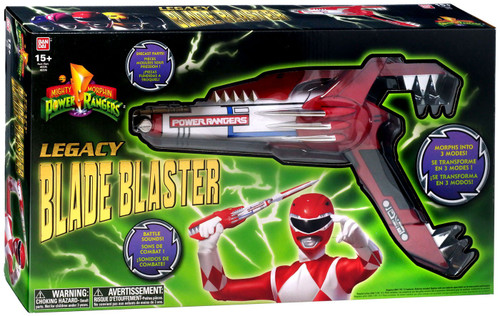 Power Rangers Mighty Morphin Legacy Blade Blaster Roleplay Toy