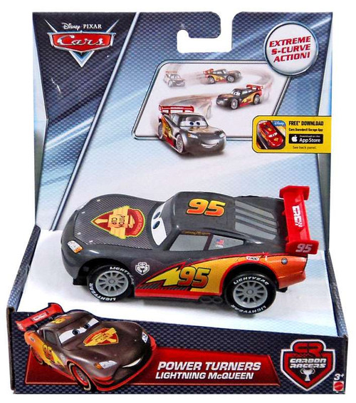 Disney / Pixar Cars Carbon Racers Lightning McQueen Power Turners Car