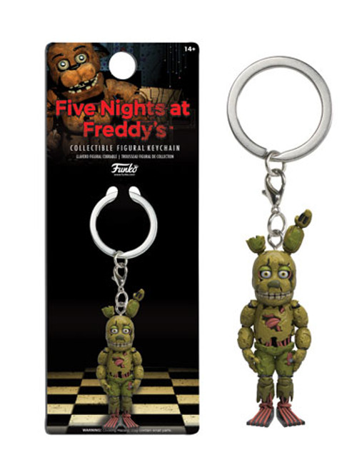 Funko Five Nights at Freddy's Spring Trap Keychain
