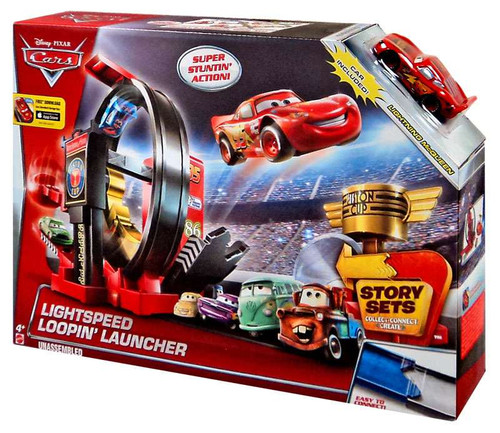 Disney / Pixar Cars Story Sets Lightspeed Loopin' Launcher Playset