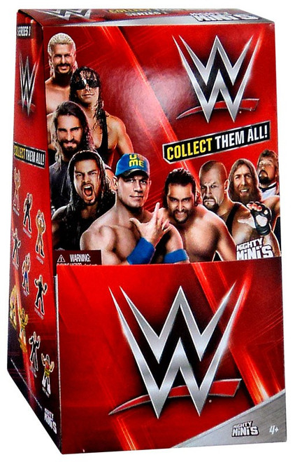 WWE Wrestling Mighty Minis Series 1 Mystery Box [36 Packs]