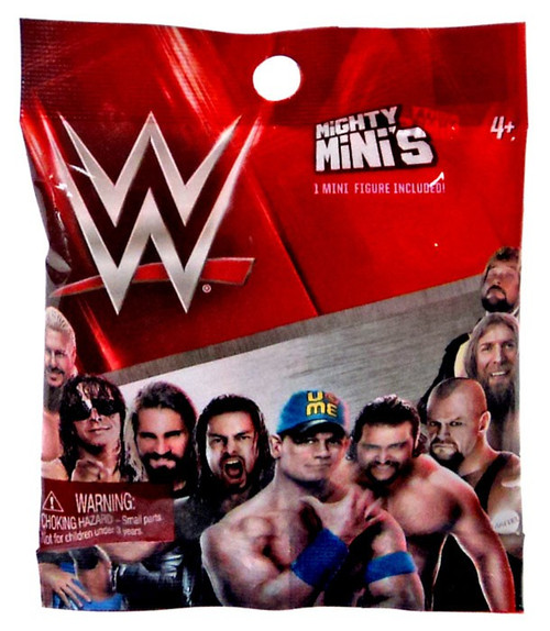 WWE Wrestling Mighty Minis Series 1 Mystery Pack