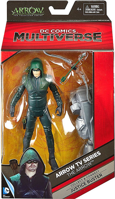 DC Arrow TV Series Multiverse Justice Buster Series The Arrow Action Figure