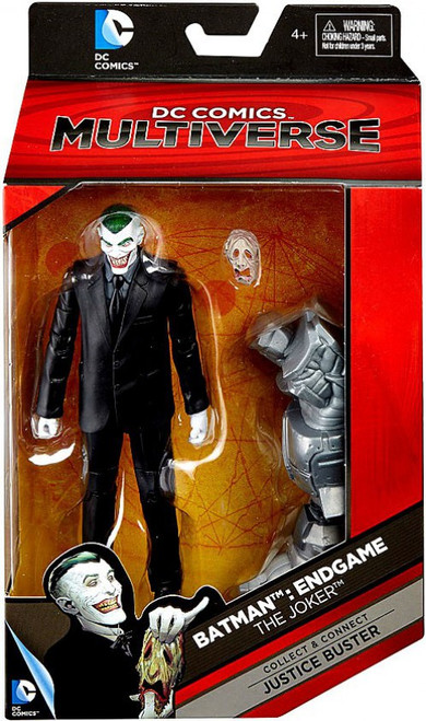 DC Batman Endgame Multiverse Justice Buster Series The Joker Action Figure