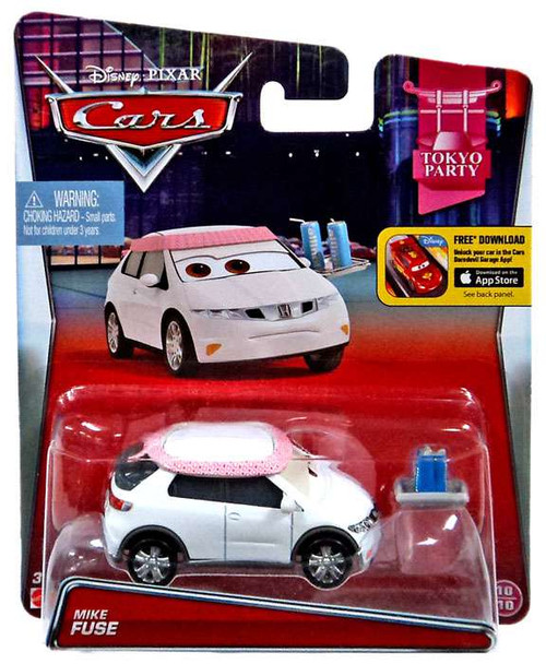 Disney / Pixar Cars Tokyo Party Mike Fuse Diecast Car #10/10