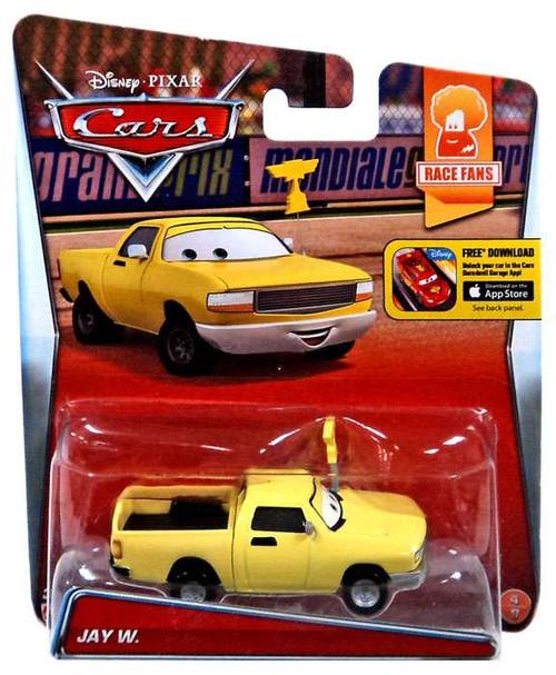 Disney / Pixar Cars Race Fans Jay W. Diecast Car #4/9