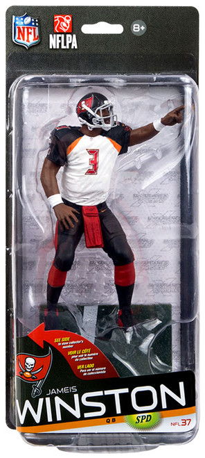 McFarlane Toys NFL Tampa Bay Buccaneers Sports Picks Series 37 Jameis Winston Action Figure [White Jersey]