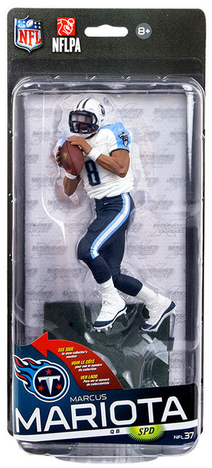 McFarlane Toys NFL Tennessee Titans Sports Picks Series 37 Marcus Mariota Action Figure [White Jersey, Blue Pants]