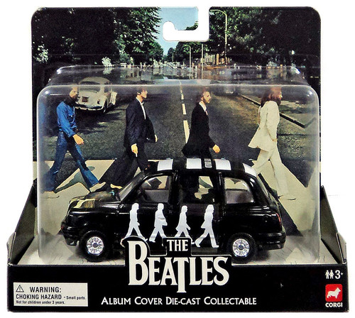 The Beatles Album Cover Collectable Abby Road Die-Cast Vehicle [London Taxi]