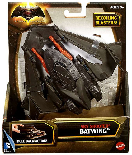 DC Batman v Superman: Dawn of Justice Sky Shooter Batwing Vehicle
