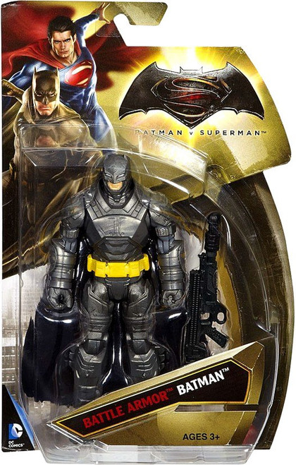 DC Batman v Superman: Dawn of Justice Battle Armor Batman Action Figure