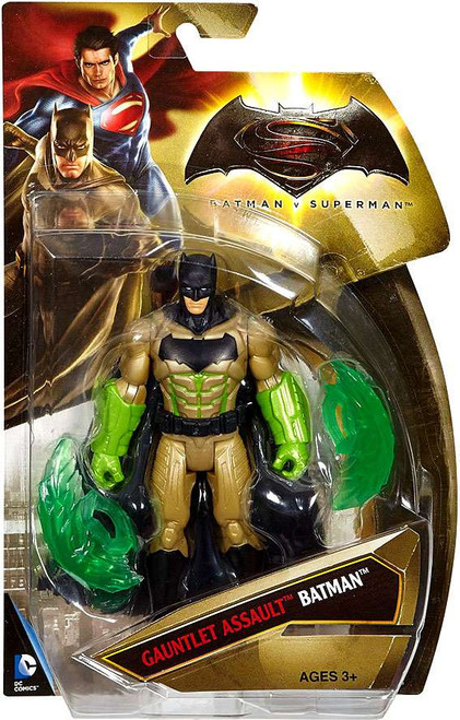 DC Batman v Superman: Dawn of Justice Gauntlet Assault Batman Action Figure