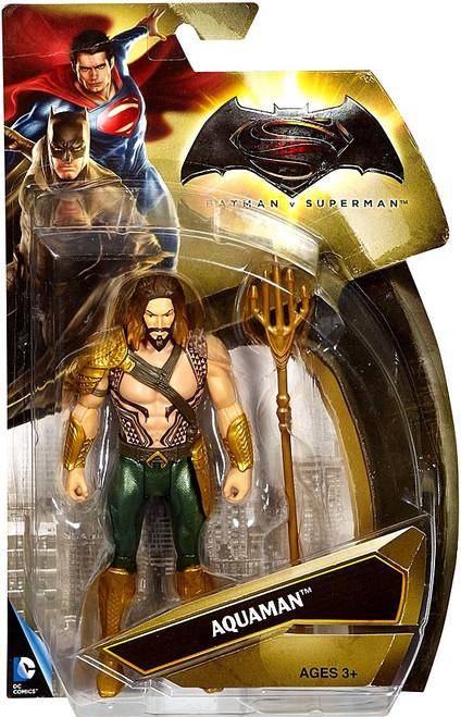 DC Batman v Superman: Dawn of Justice Aquaman Action Figure [Gold Armor]