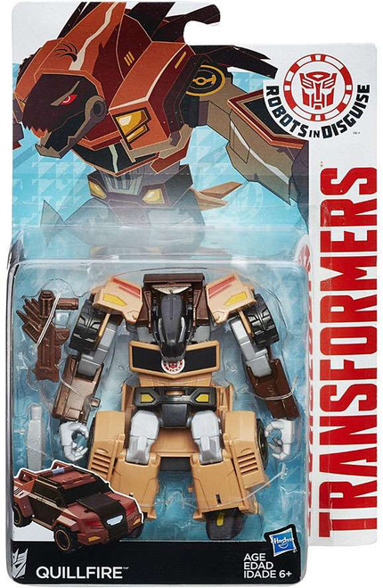 Transformers Robots in Disguise Quillfire Warrior Action Figure