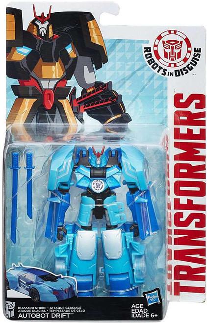 Transformers Robots in Disguise Blizzard Strike Autobot Drift Warrior Action Figure