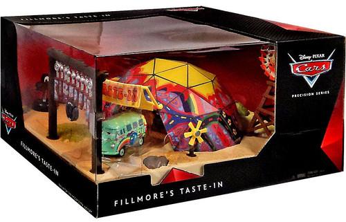 Disney / Pixar Cars Precision Series Fillmore's Taste-In Playset