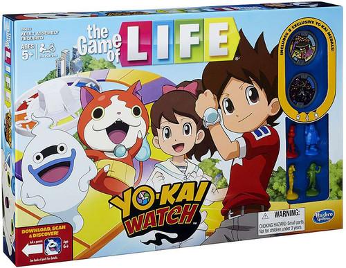 Yo-Kai Watch Game of Life Board Game