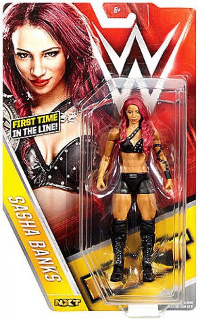 WWE Wrestling Series 59 Sasha Banks Action Figure